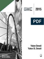 2015 Yukon Denali Owner Manual