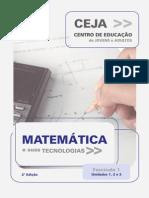 Ceja Matematica Fasciculo 1 Unidade 3