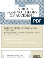 Heinrich's Domino Theory of Accident