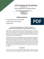 LA ILEGALIDAD DEL DECRETO DE EXTINCIÓN DE LUZ Y FUERZA DEL CENTRO Febrero de 2010