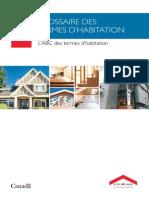 Glossaire Des Termes d'Habitation L'ABC Des Termes d'Habitation