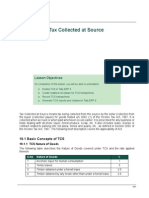 19 Tax Collected at Source