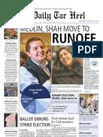 The Daily Tar Heel for Feb. 10, 2010