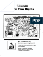 Know Your Rights-Consumer