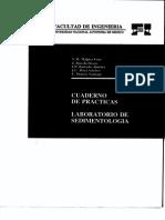 Cuadermo de Prácticas Laboratorio de Sedimentologia