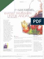 Sayur-sayuran Khasiat Tambahan Untuk Anda - Dr Nurhazinat Yunus Pesona Pengantin Jan 2014