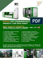 2G CENERGY Product Program Cogen Biogas 60Hz-2013