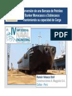 Astilleros MAggiolo - PERU - Modif Barcaza Petroleo