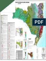 Mapa Geologico Do Estado de Santa Catarina