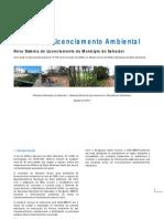 Manual do Licenciamento Ambiental Salvador