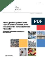 Familia, Pobreza y Bienestar en Chile - UC Politicas Publicas