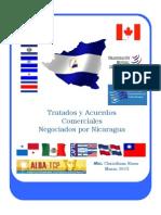 Tratados y Acuerdos Comerciales Negociados Nicaragua