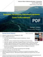 Tectonics, Structures, Petroleum Systems Indonesia Cases STTNAS (Awang Satyana, 2014)