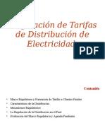Regulación de Taifas de Distribuciòn de Electrecidad