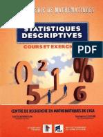 Statistiques descriprtives-cours et exercices