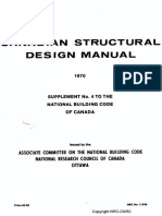 NBC - 1970 - Structural Design and Commentaries