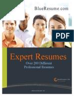 BlueResume.com Expert Resume Book 4.0