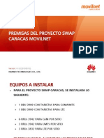 Premisas Swap Caracas Movilnet