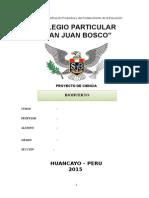 PROYECTO BIOHUERTO 2015