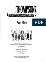 1.John Thompson Easiest Piano Course Part 1a