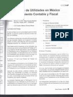 Reparto de Utilidades en México. Tratamiento Contable y Fiscal