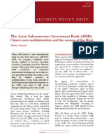 The Asian Infrastructure Investment Bank (AIIB)