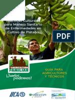 Practicas Culturales Para Manejo Sanitario de Enfermedades Platano