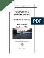 Willow Ct Business Development Plan