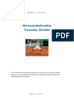 GlobalTennis Groundstroke Tennis Drills eBook