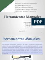 Herramientas Manuales (Mantenimiento Mecánico)