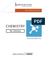 SPM Seminar 2014 - Chemistry
