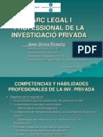 Competencias y Habilidades Profesionales de La Inv 2015.Ppt Editar