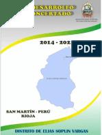 Plan de Desarrollo Concertado 2015 - 2021