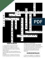 Español Crucigrama