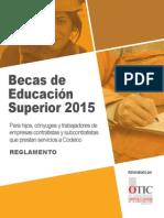 Reglamento 2015 Becas Estudios Codelco