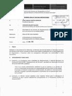 Informe Legal 0424-2012-SERVIR-GPGRH Sobre  las  Encargaturas