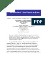 CRITICAL CONSTRUCTIVISM