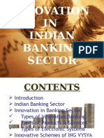 Innovation in Indian Banking Sector