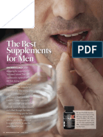 """THE BEST SUPPLEMENTS FOR MEN"""
