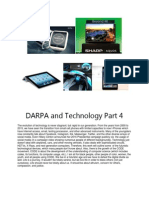 DARPA and Technology Part 4
