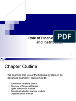 3. Role of Financial Markets and Institutions