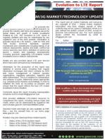 Evolution to LTE (World Market Report) - GSA 10052013
