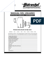 Manual Bomba Autocebante Eje Libre v.e.10 11