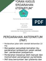Perdarahan Antepartum Lk