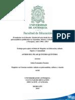 El malestar en el docente. Estado del arte desde los aportes teóricos psicoanalíticos publicados en Argentina, México, Colombia, Brasil, Chile y Paraguay, entre 1983 y 2013