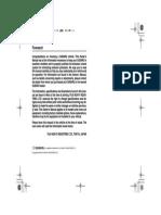 Manual Usuario Subaru Forester