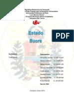 Economia Del Estado Sucre