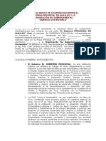 Convenio Marco Gobierno Provincial de Huaylas