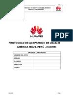 Protocolo Acept LTE ENodeB DBS3900 Huawei