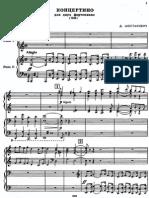 Concertino - 2 Piano's